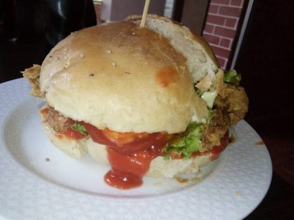 MFoods Cripy Chicken Cheese Burger